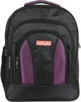 View Spyki 18 inch Laptop Backpack(Purple, Black) Laptop Accessories Price Online(Spyki)