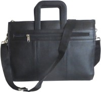 View Needlecrest 15 inch Laptop Messenger Bag(Black) Laptop Accessories Price Online(Needlecrest)