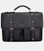 Hidestitch 14 inch Laptop Messenger Bag(Black)
