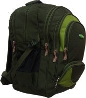 View Nl Bags 16 inch Laptop Backpack(Green) Laptop Accessories Price Online(Nl Bags)
