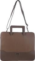 View Klasse 15 inch Laptop Messenger Bag(Tan) Laptop Accessories Price Online(Klasse)