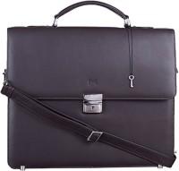 Massi Miliano 14 inch Laptop Messenger Bag(Brown)