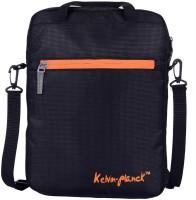 View Kelvin Planck 14 inch Laptop Messenger Bag(Black) Laptop Accessories Price Online(Kelvin Planck)