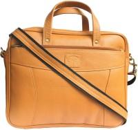 View Tamanna 15 inch Expandable Laptop Messenger Bag(Tan) Laptop Accessories Price Online(Tamanna)
