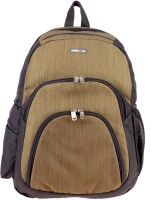 Bags R Us 15 inch Laptop Backpack(Brown, Black)