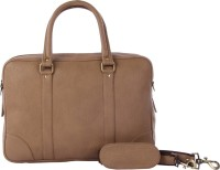 View Walletsnbags 14 inch Laptop Messenger Bag(Beige) Laptop Accessories Price Online(Walletsnbags)
