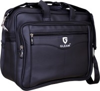 View Gleam 15.6 inch Laptop Messenger Bag(Black) Laptop Accessories Price Online(Gleam)