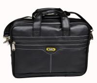 Zenniz 16 inch Laptop Messenger Bag(Black)