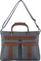 View Klasse 15 inch Laptop Messenger Bag(Grey) Laptop Accessories Price Online(Klasse)