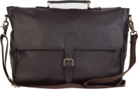 View The House of Tara 15 inch Laptop Messenger Bag(Brown) Laptop Accessories Price Online(The House of Tara)