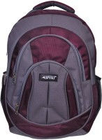 Spyki 15 inch Laptop Backpack(Grey, Brown)