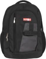 Spyki 18 inch Laptop Backpack(Grey, Black)