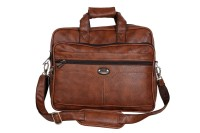 View Goodwin 15.6 inch Laptop Messenger Bag(Beige) Laptop Accessories Price Online(Goodwin)