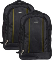 Vape 17 inch Expandable Laptop Backpack(Yellow)