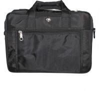 Paramsai 16 inch Expandable Laptop Messenger Bag(Black)