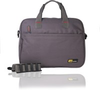 View Yark 16 inch Laptop Messenger Bag(Grey) Laptop Accessories Price Online(Yark)