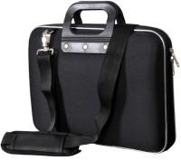 View Tolexo 14 inch Laptop Messenger Bag(Black) Laptop Accessories Price Online(Tolexo)