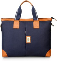 View The Clownfish 14 inch Laptop Messenger Bag(Blue) Laptop Accessories Price Online(The Clownfish)