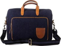 View Goatter 13 inch, 14 inch, 15 inch Laptop Messenger Bag(Blue) Laptop Accessories Price Online(Goatter)