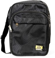 View THK Security 9 inch Laptop Messenger Bag(Black) Laptop Accessories Price Online(THK Security)