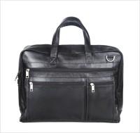 Kara 10 inch Expandable Laptop Messenger Bag(Black)