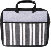 Rajrang 14 inch Laptop Tote Bag(Black)