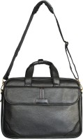 View WCL 15 inch Expandable Laptop Messenger Bag(Black) Laptop Accessories Price Online(WCL)