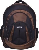 Spyki 15 inch Laptop Backpack(Black, Brown)