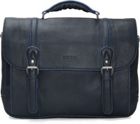 Brune 14 inch Laptop Messenger Bag(Blue)