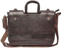 View Nerita 12 inch Laptop Messenger Bag(Brown) Laptop Accessories Price Online(Nerita)