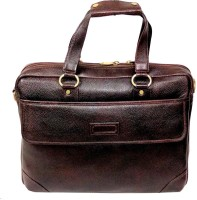 View Ays 14 inch Laptop Messenger Bag(Brown) Laptop Accessories Price Online(Ays)