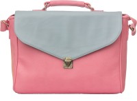 View Band Box 18 inch Laptop Messenger Bag(Pink) Laptop Accessories Price Online(Band Box)