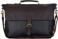 View The House of Tara 15 inch Laptop Messenger Bag(Black) Laptop Accessories Price Online(The House of Tara)