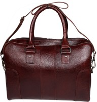 View Leather World 14 inch Laptop Messenger Bag(Brown) Laptop Accessories Price Online(Leather World)