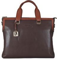 Adamis 10 inch Laptop Messenger Bag(Brown)