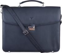 Massi Miliano 15 inch Laptop Messenger Bag(Black)