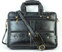 View Shoegaro 14 inch Laptop Messenger Bag(Black) Laptop Accessories Price Online(Shoegaro)