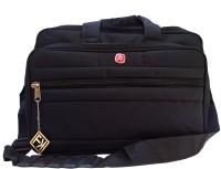 View Fashion Knockout 17 inch Laptop Messenger Bag(Black) Laptop Accessories Price Online(Fashion Knockout)