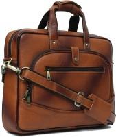View WildHorn 14 inch Laptop Messenger Bag(Tan) Laptop Accessories Price Online(WildHorn)