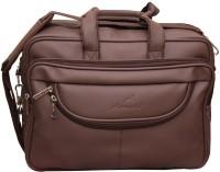View Attache 15.6 inch Laptop Messenger Bag(Brown) Laptop Accessories Price Online(Attache)
