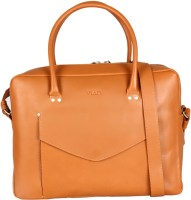 Viari 13 inch Laptop Messenger Bag(Tan)