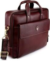 View WildHorn 13 inch Laptop Messenger Bag(Brown) Laptop Accessories Price Online(WildHorn)