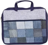 Rajrang 14 inch Laptop Tote Bag(Blue)