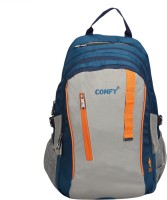 View Comfy 16 inch Laptop Backpack(Blue, Grey) Laptop Accessories Price Online(Comfy)