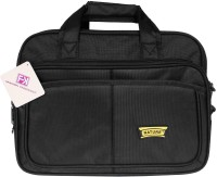 View Fashion Knockout 15 inch Expandable Laptop Messenger Bag(Black) Laptop Accessories Price Online(Fashion Knockout)