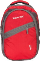 View Relevant Yield 15 inch Expandable Laptop Backpack(Red) Laptop Accessories Price Online(Relevant Yield)