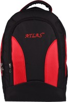 View Atlas 17 inch Laptop Backpack(Black, Red) Laptop Accessories Price Online(Atlas)
