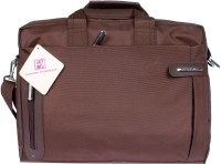 View Fashion Knockout 15 inch Laptop Messenger Bag(Brown) Laptop Accessories Price Online(Fashion Knockout)