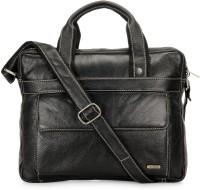 View Teakwood 16 inch Laptop Messenger Bag(Black) Laptop Accessories Price Online(Teakwood)