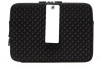 View D'clair 13 inch Laptop Case(Black) Laptop Accessories Price Online(D'clair)